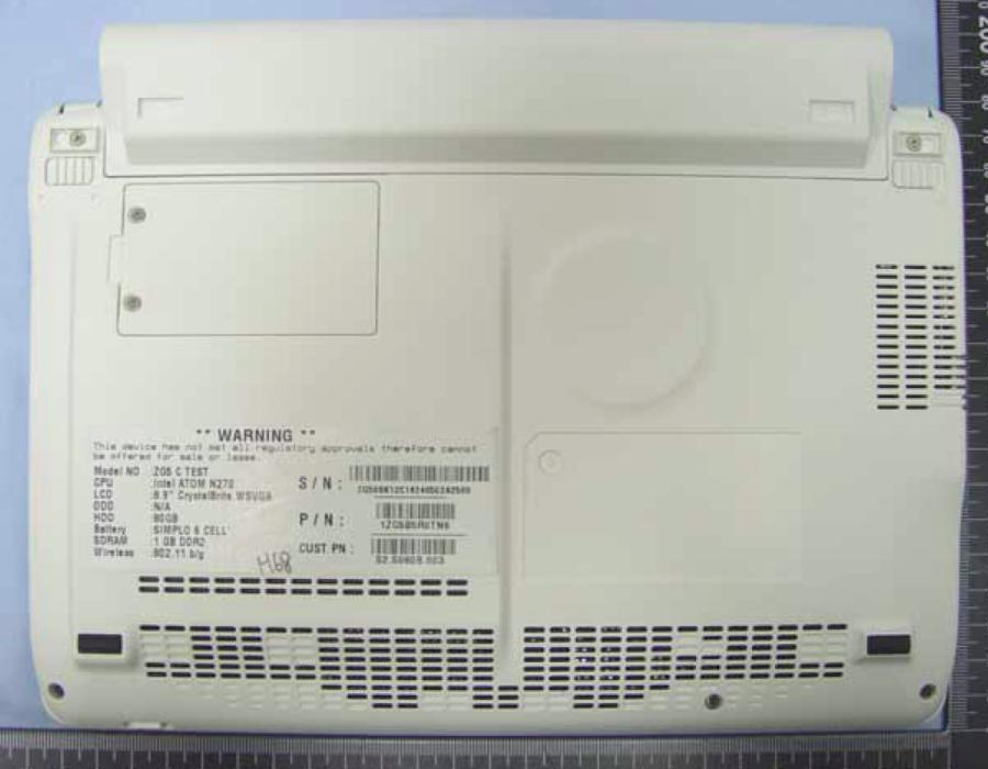 Acer Aspire One HDD