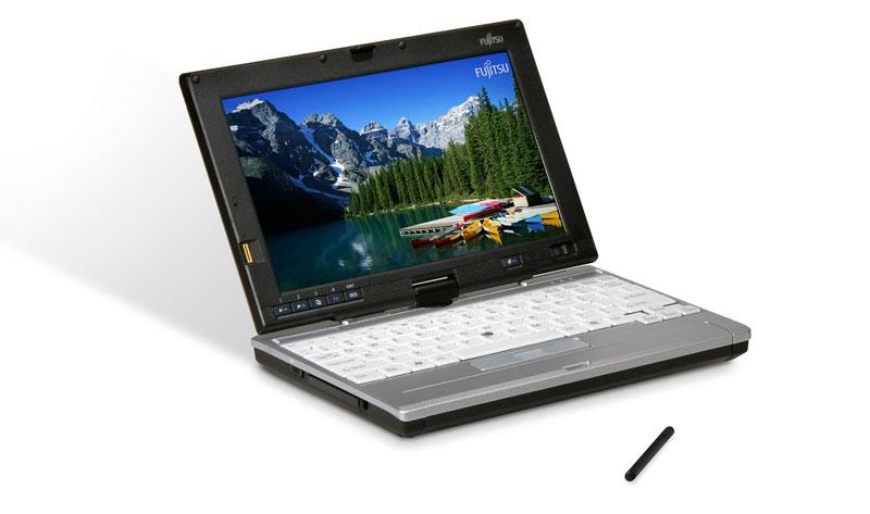 Fujitsu LifeBook P1620 Left Angle