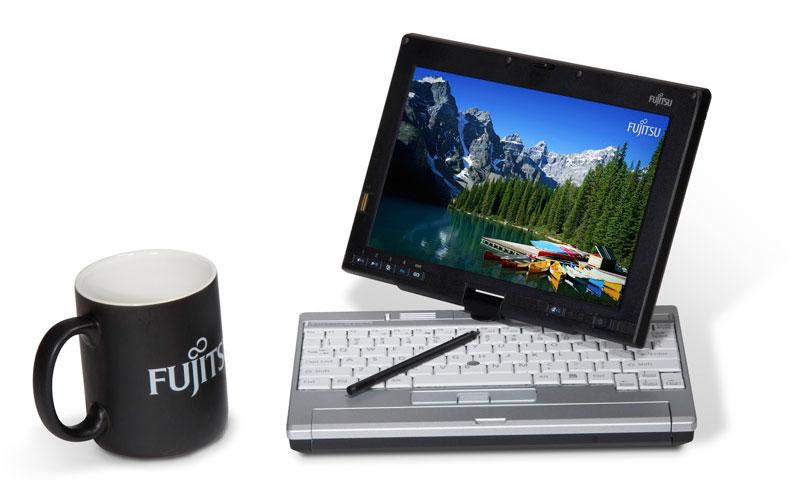 Fujitsu LifeBook P1620 Size Comparison