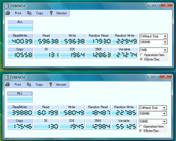 Windows 7 on a 320GB Western Digital on Lenovo S10