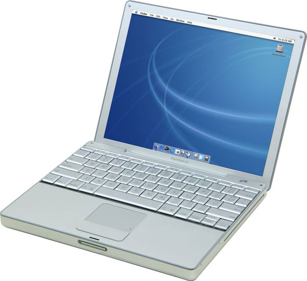 apple powerbook g4 1 5ghz 12 2005 small laptops and notebooks. Black Bedroom Furniture Sets. Home Design Ideas