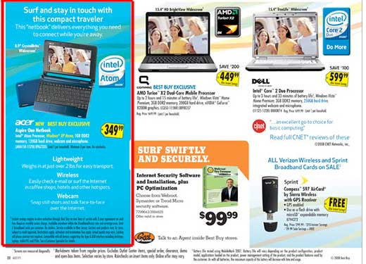 Acer Aspire One - Best Buy Ad