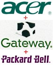 Acer Gateway Packard Bell