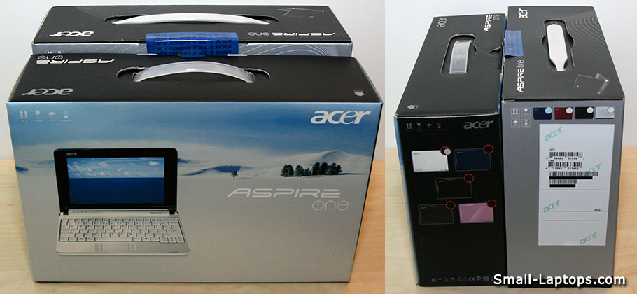 10.1-inch Acer Aspire One Versus 8.9-inch Acer Aspire One